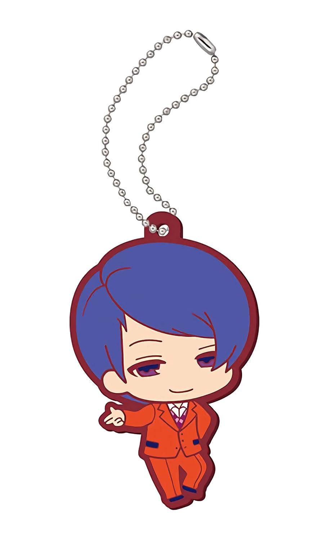 Tokyo Ghoul Petite Rubber Mascot Tsukiyama Shuu Rubber Trading Strap
