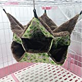 Yu-Xiang 3 Layers Hamster Hanging Hammock Sugar