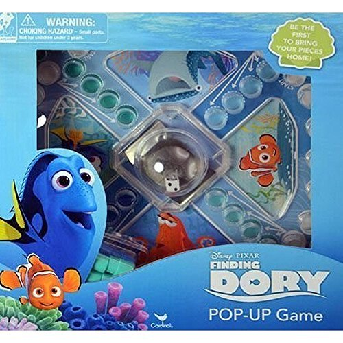 Homemade Halloween Pop Cards Up (Finding Dory Pop-Up Game by Finding)