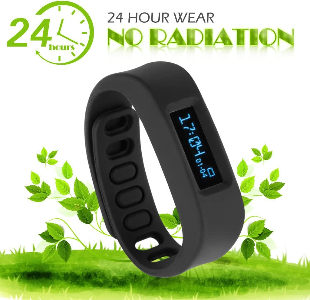 Amazon.com: Excelvan SW1-B Healthy Bracelet Step Counter ...