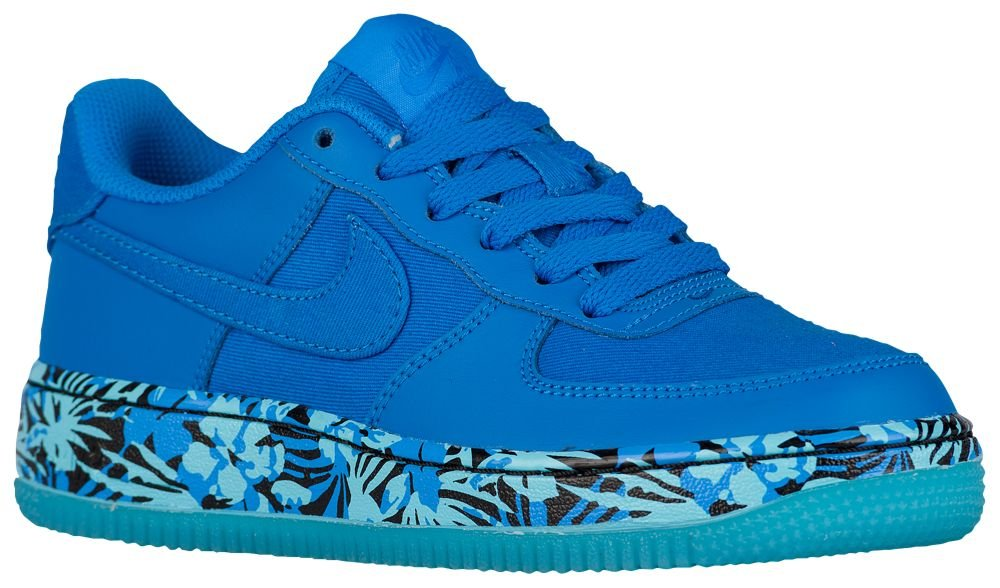 [ナイキ] NIKE スニーカー AIR FORCE 1 LOW GS B071J4QMZZ US07.0|Photo Blue/Gamma Blue/Photo Blue Photo Blue/Gamma Blue/Photo Blue US07.0