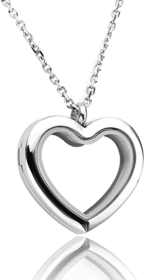 Memory Lockets Fits 25 and 30mm Floating Memory Lockets With Me Always Heart Charm