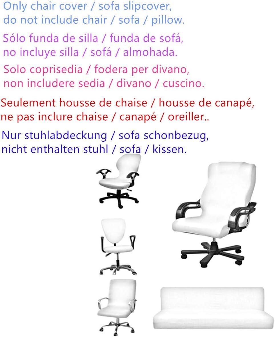 4Housses de Chaise de Salle à Manger Stretch Spandex Protection pour siège Chaise Housse Decor New (Seulement Housse, Pas de Chaise) Colour 6