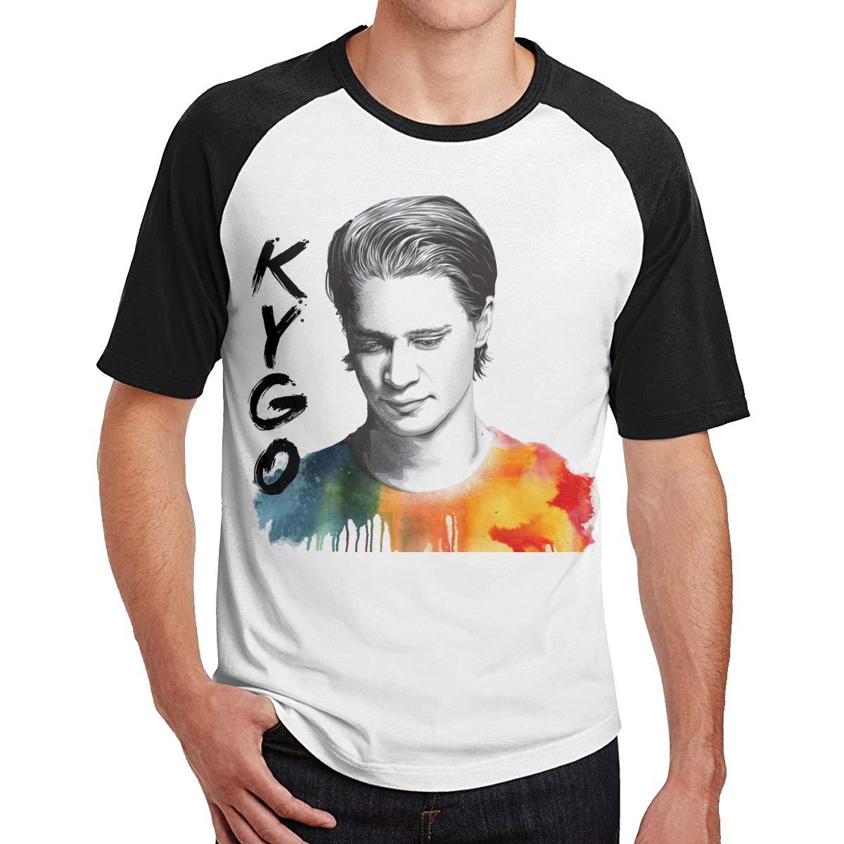 Kygo Music Band Singer Short Sleeve Cool Baseball T Shirt