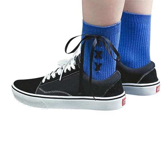 ishine calcetines mujer divertidos calcetines ciclismo con 5 colores: Amazon.es: Ropa y accesorios