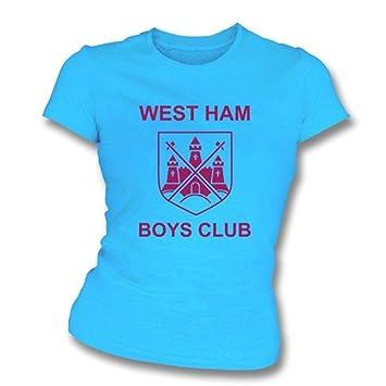 Los muchachos de West Ham aporrean como llevado por la camiseta pequeña, color del ajustado