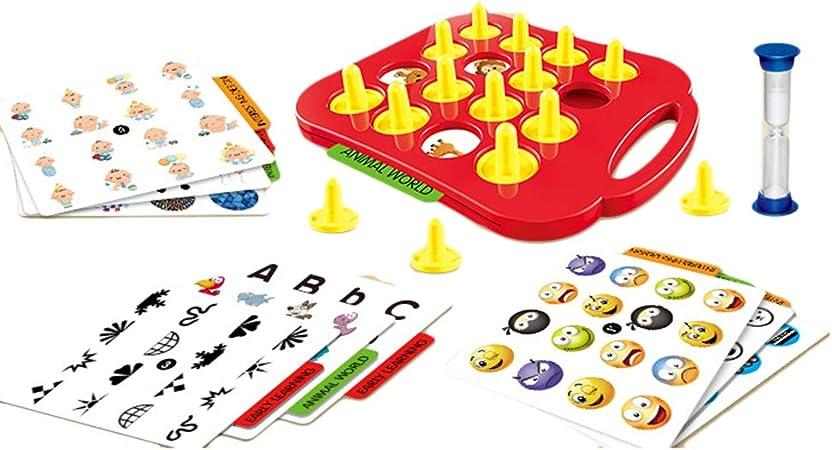 Daxoon Memory Chess 3D Puzzle Juego de Mesa Inteligente Juguete Interactivo para niños: Amazon.es: Hogar