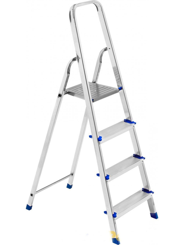 WEBMARKETPOINT Framar - Escalera de Aluminio Piuma con 4 peldaños: Amazon.es: Hogar