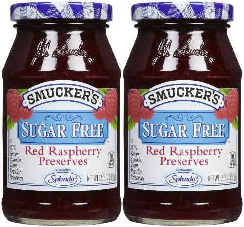 Smucker's Red Raspberry Sugar Free Preserves - 12.75 oz - 2 pk ()