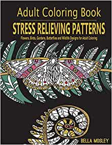 Amazon Com Adult Coloring Book Stress Relieving Patterns
