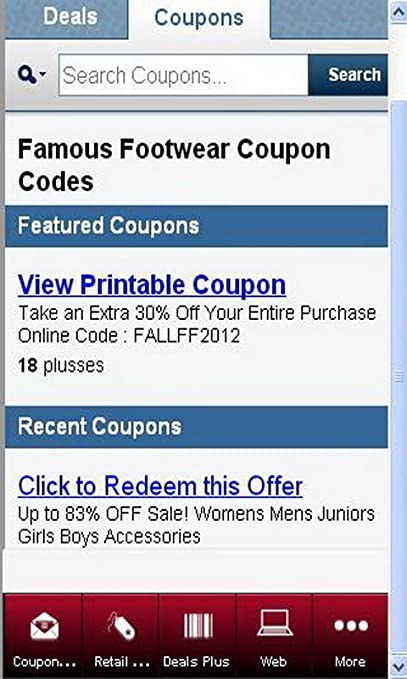 picture regarding Famous Footwear Coupon Printable referred to as Well-known Sneakers Discount codes 1.01