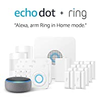 Deals on Ring Alarm 14 Piece Kit + Echo Dot 3rd Gen works w/Alexa