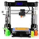 GUCOCO Update Desktop A8 3D Printer, DIY 3D Printer Kits High Accuracy Self-Assembly DIY Personal Portability 3D-Printers 220 220 240mm Print Size (Aviation Wooden 3D Printer)