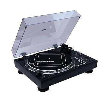 JB Systems Q3-USB - Tocadiscos para equipo de audio, negro
