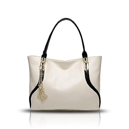 Tisdaini Sac à main pour femme sac à main en cuir naturel en cuir verni Sac à bandoulière sac à bandoulière en dames ptsDj