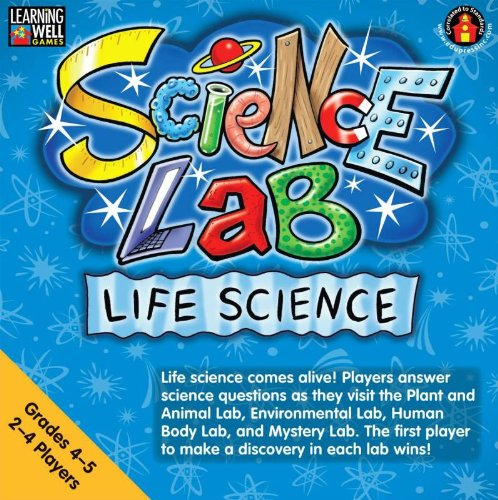 Edupress Game Learning Well Science Lab Life Science, Grades 4-5 - Learning Well Games