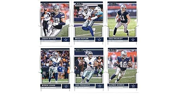 973483d917d Amazon.com  2017 Score Dallas Cowboys Veterans Team Set of 11 Cards  Jason  Witten( 14)