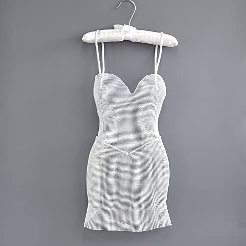 Amazon Com Wire Mesh White Dress Modern Metal Art 3d Wall Art