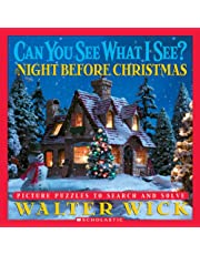 Can You See What I See? The Night Before Christmas: Picture Puzzles to Search and Solve