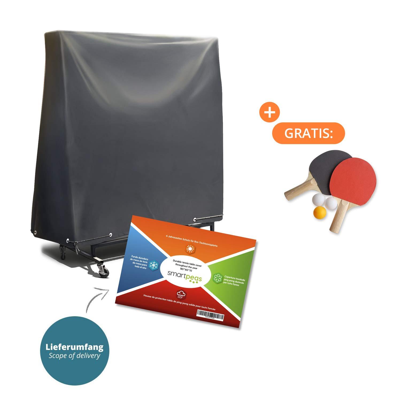 Hitasche Tischtennisplatte Abdeckung, Schutzhülle Wasserdicht UV Beständig  Hülle Für Tischtennisplatten Ping Pong Tisch 165 X 70 ...