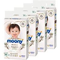 Moony Natural Tape, M, 46 Count (Pack of 4)