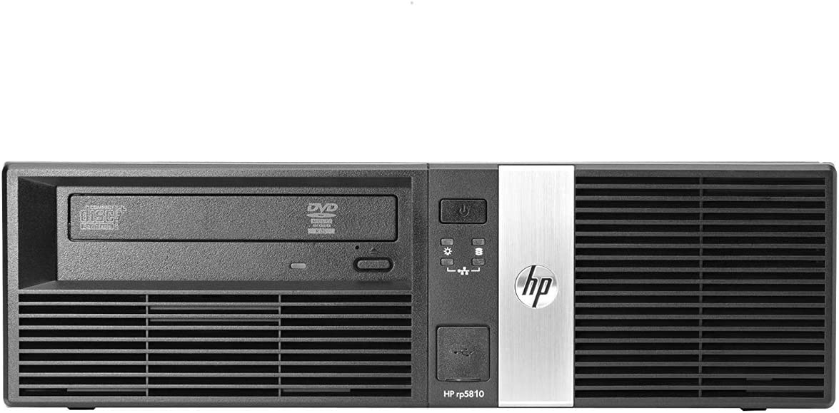 HP RP5800 Desktop PC Retail System POS - Intel Core i5-2400 3.1GHz, 16GB DDR3 Ram, 1TB HDD, Windows 10 Pro (Renewed)