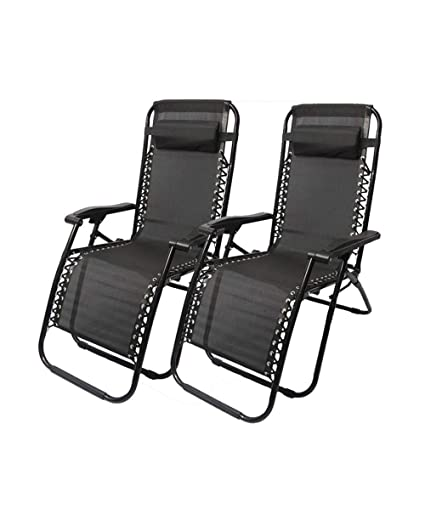 Amazon.com: DQChair - Juego de 2 sillas reclinables ...