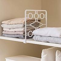 DUOCACL Divisor para estantes, estante para armario, organizador para divisores para trastero, armario, división…