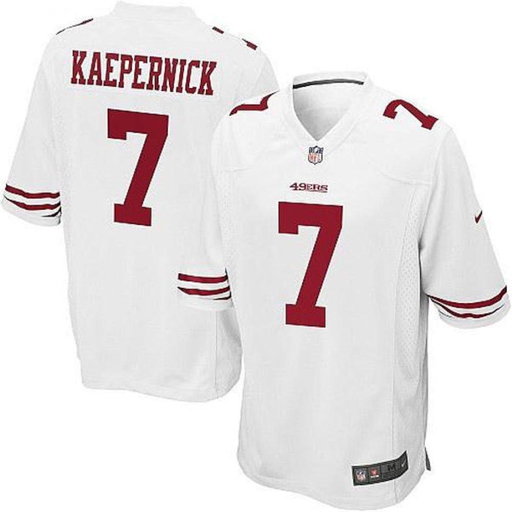 wholesale dealer 1eae6 491a2 Mens San Francisco 49ers Colin Kaepernick Nike Game Jersey ...
