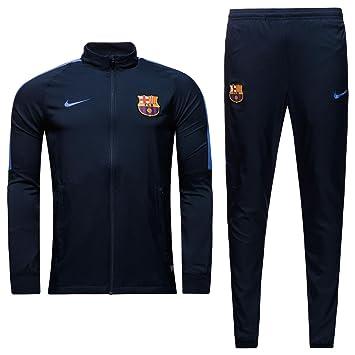 Nike FCB M NK Dry TRK Suit SQD W Chándal FC Barcelona f029dfbd50b