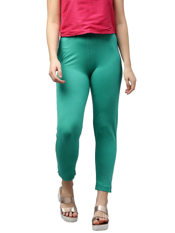 LUX LYRA Women's Straight Pant Slim (LYRA_KURTIPANT_1PC_Jade_Free Size)