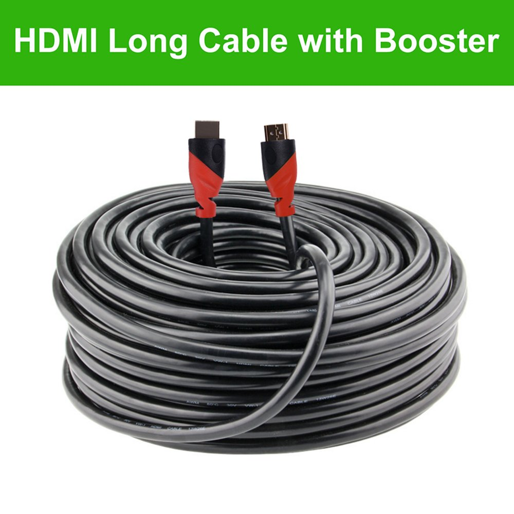 Million High HDMI Cable (150 ft) Built-in Signal Booster Supports 3D & Audio Return Channel - Full HD [Latest Version] - 150 Feet