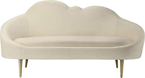 Editors' Choice: TOV Furniture The Cloud Collection Modern Velvet Upholstered Living Room Settee