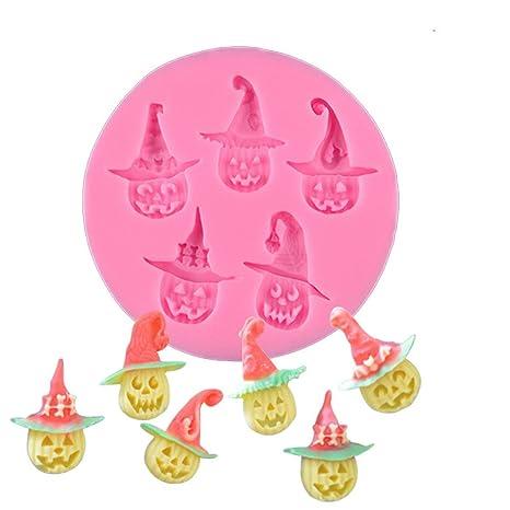 NewKelly Creative Happy Halloween - Molde de Silicona para ...