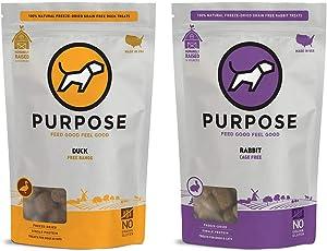 PURPOSE Freeze-Dried Raw Single Ingredient Dog Treats 3 oz.