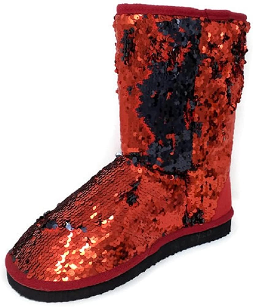 Amazon.com | Women's Sparkles Red/Black