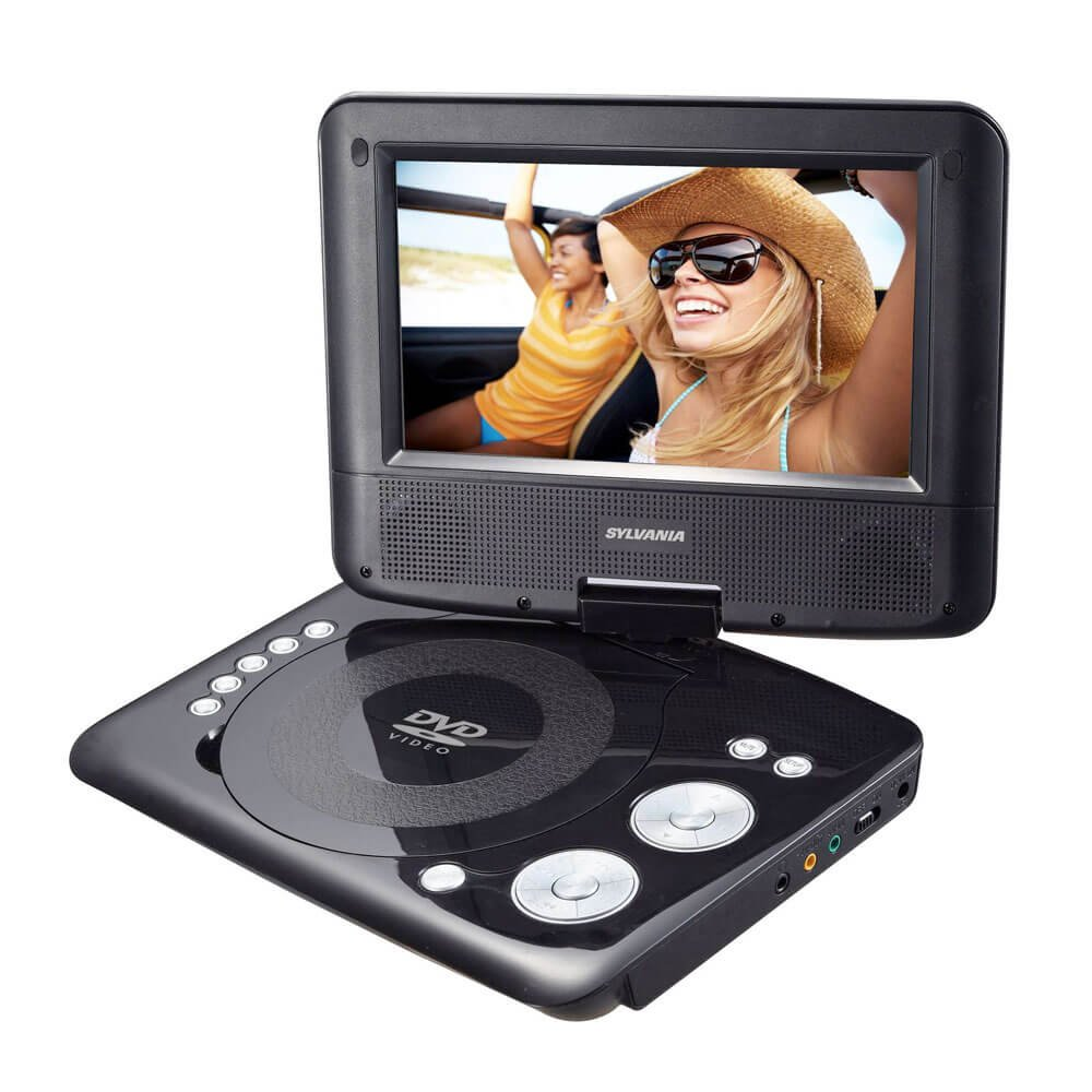 Sylvania SDVD7073 7in Portable DVD Player (Renewed)
