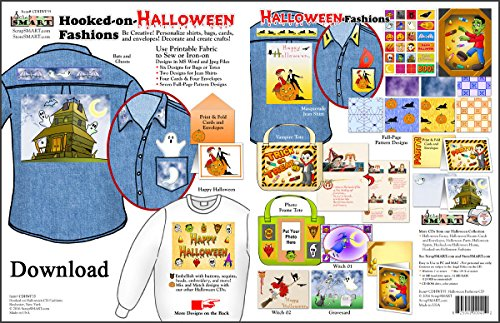 ScrapSMART - Hooked-on-Halloween Home - Software Collection - Jpeg & MS Word files for Mac [Download] -