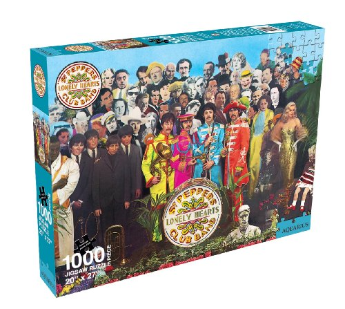 (Aquarius Beatles Sgt Pepper Jigsaw Puzzle - 1000 Piece)