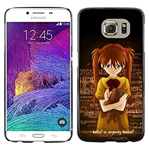 Exotic-Star ( Cute Anybody There Japanese Girl ) Fundas Cover Cubre Hard Case Cover para Samsung Galaxy S6 / SM-G920 / SM-G920A / SM-G920T / SM-G920F / SM-G920I