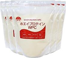 nichie アメリカ産 無添加 ホエイプロテイン WPC プレーン 5kg(1kg×5袋)