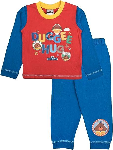 Boys Kids Children/'s hey Duggee Nightwear Pyjamas Pjs Clothes Wearing cbeebies