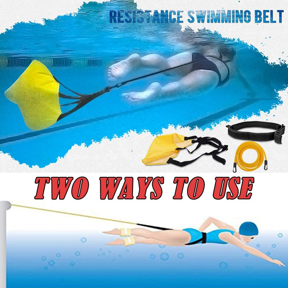 Sudopru Cinturones de Entrenamiento para natación, 3,0 m, para ...
