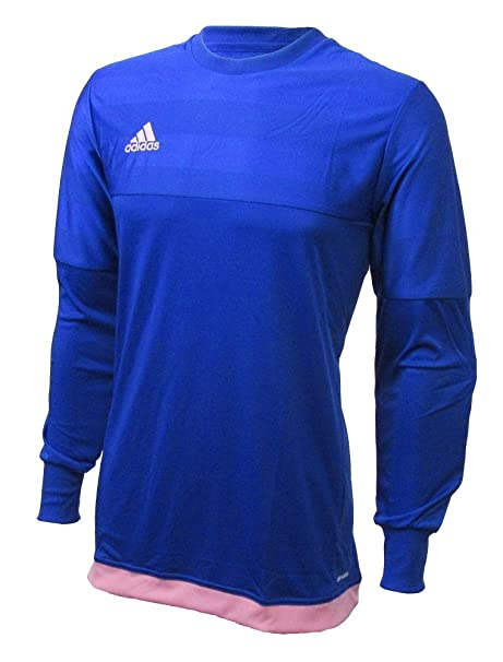 c27e1d20029 adidas Performance Youth Entry 15 Goalkeeper Jersey, Bold Blue/Light Pink,  Youth XX