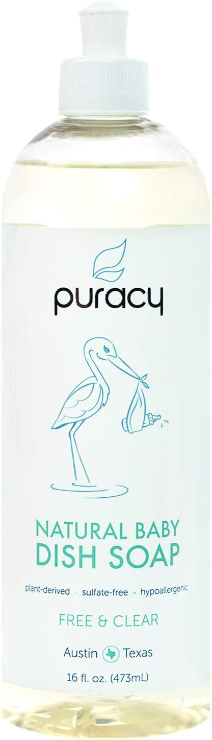 Puracy Natural Baby Dish Soap