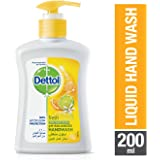 Dettol Fresh Anti-Bacterial Liquid Hand Wash 200ml