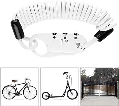 Candado Bici Bicicleta alta Seguridad,Mini Bloqueo de Bicicleta 3 ...