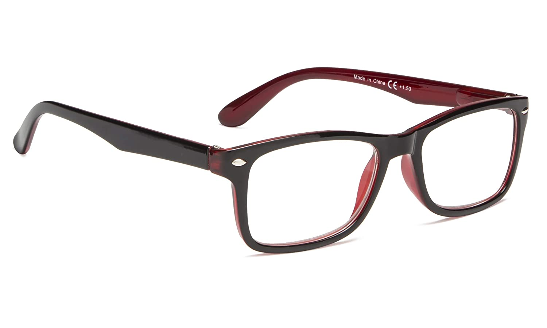 Classic Vintage Style Reading Glasses Women Men 0.75) BLUELESS