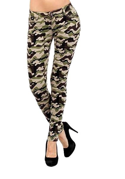 Amazon.com: D7 Juniors Commando de la mujer camuflaje ...