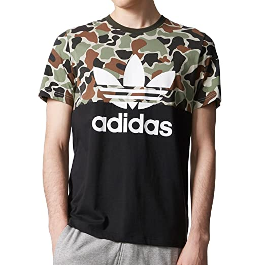 Amazon Com Mens Adidas Originals Camo Color Tee Cd1696 Xx Large